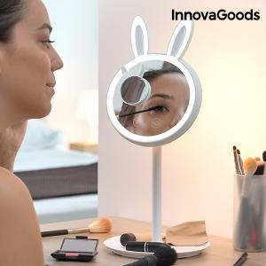 2 v 1 zrkadlová lampa Mirrobbit LED InnovaGoods make-up