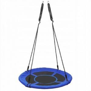 3694 Malatec Kruhová hojdačka 100 cm modrá