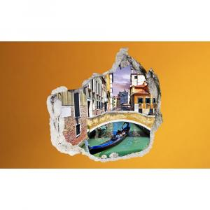 3D fototapeta, Benátky, 100 x100cm