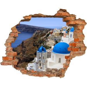 3D fototapeta, Santorini, 125 x100cm
