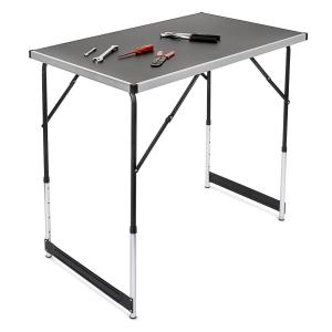 ABC Hliníkový skladací predajný pult stôl stolík