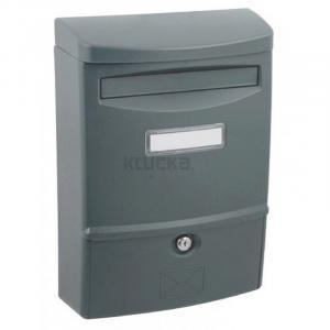 ABS 2 grafit poštová schránka plast