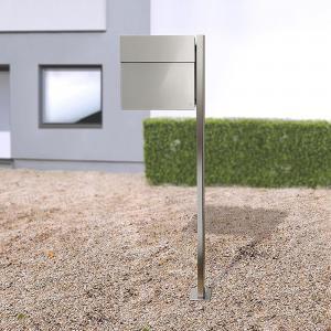 Absolut/ Radius Poštová schránka Letterman IV so stĺpom oceľ
