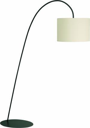 ALICE | Stojaca lampa s textilným tienidlom Farba: Krémová