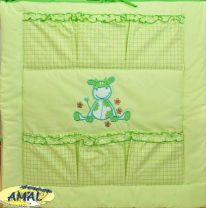 AMAL Vreckár z kolekcie KOMFORT, KRAVIČKA zelená