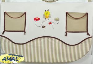 AMAL Vreckár z kolekcie LUX, včielky