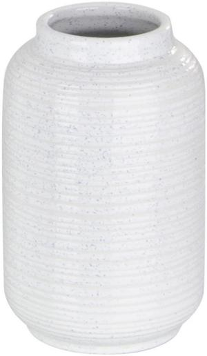 Ambia Home VÁZA, keramika, 23 cm - biela