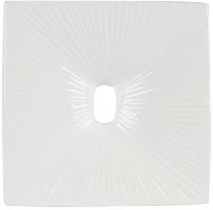 Ambia Home VÁZA, keramika, 26 cm - biela