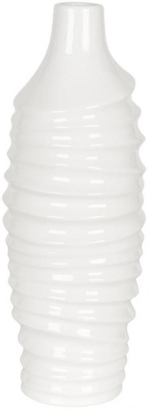 Ambia Home VÁZA, keramika, 36,6 cm - biela