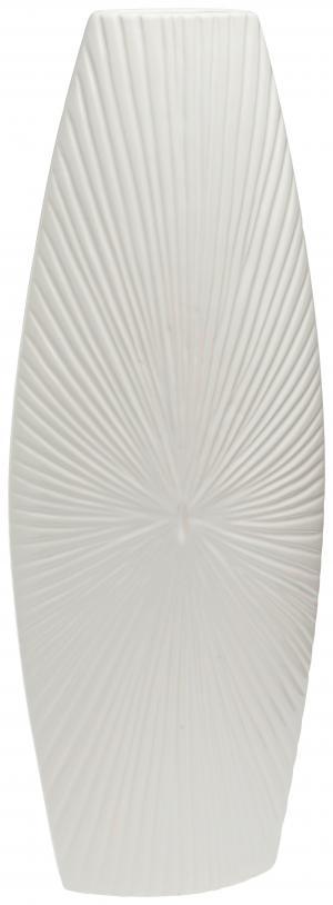 Ambia Home VÁZA, keramika, 57 cm - biela