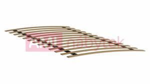 AMI nábytok Elastický dřevěný rošt 13 lamel 80x200