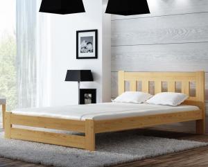 AMI nábytok Posteľ borovica Mila 120x200