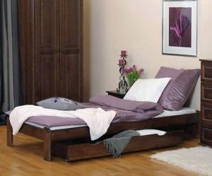AMI nábytok Postel ořech Adéla 90x200cm
