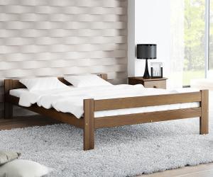 AMI nábytok Postel ořech Fumi VitBed 120x200cm