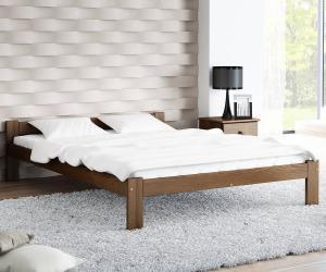 AMI nábytok Postel ořech Isao VitBed 120x200cm
