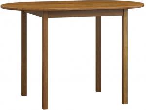AMI nábytok Stůl oválný dub č4 150x80 cm