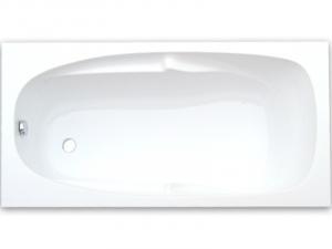 Anatomicky tvarovaná vaňa 170x80 Rhodos TGB Plast - 160