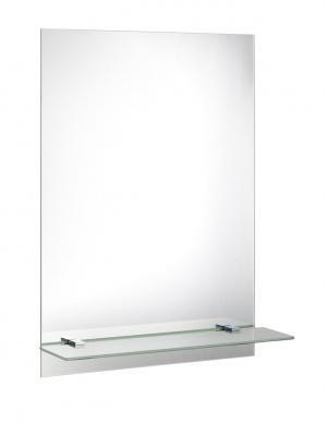 Aqualine 22429 zrkadlo 50x70 cm, vrátane závesov a otvorov pre policu