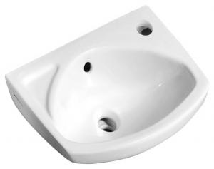 Aqualine 91351 keramické umývadlo 35x28cm