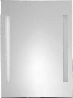 Aqualine ATH5 zrkadlo s LED osvetlením 50x70 cm, gombíkový vypínač