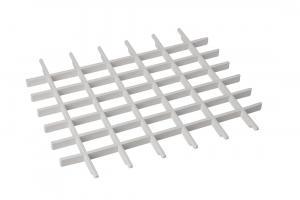 Aqualine PI5020 univerzálna mriežka pre závesné výlevky, plast, biela