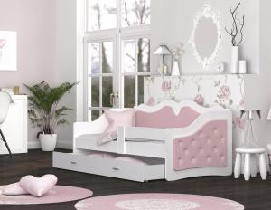 ArtAJ Detská posteľ LILI K | Trinity 180 x 80 cm FARBA: Sivá
