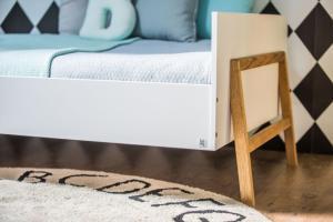 ArtBel Detská posteľ Lotta   90 x 200 Farba: Biela