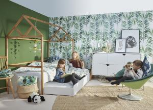 ArtBel Detská posteľ Lotta domček | 90 x 200 Farba: Sivá
