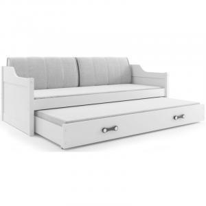 ArtBms Detská posteľ Dawid biela / biela