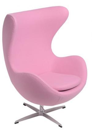 ArtD Kreslo JAJO inšpirované EGG kašmír Farba: Ružová