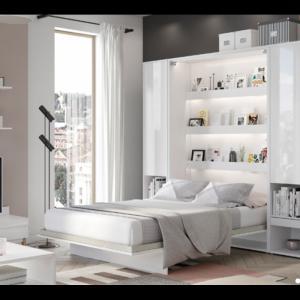 ArtDig Sklápacia posteľ Bet Notion BC-02 120x200 biela lesk