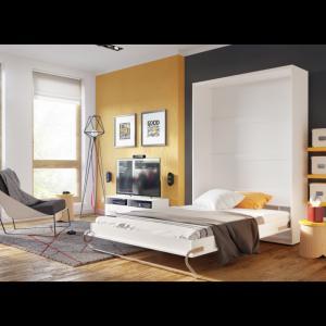 ArtDig Sklápacia posteľ Notion Pro NP-02 120x200/biely lesk