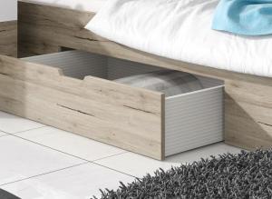 ArtElb Manželská posteľ so zásuvkou DELTA | san remo Prevedenie: 160 x 200 cm