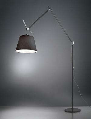 Artemide TOLOMEO MEGA LED těleso černá stmív.na kabelu bez stínítka a základny 0762030A