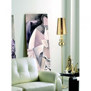 ArtKing Stojaca lampa Queen Floor zlatá