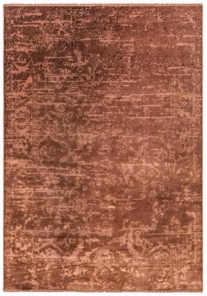 ASIATIC LONDON Zehraya ZE05 Rust Abstract, oranžová