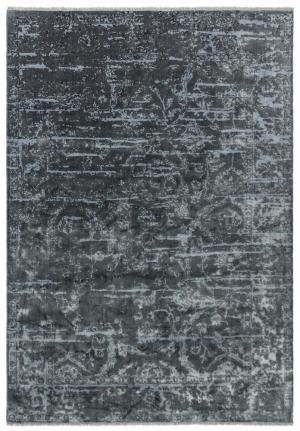 ASIATIC LONDON Zehraya ZE07 Charcoal Abstract, šedá