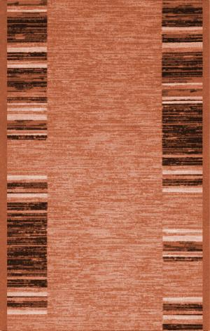 Associated Weavers koberce Protiskluzový běhoun na míru Adagio 25 oranžový - šíře 80 cm s obšitím