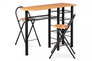 Autronic, Barový pult + stoličky, AUB-2000 OAK