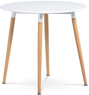 Autronic, jedálenský stôl, DT-608 WT