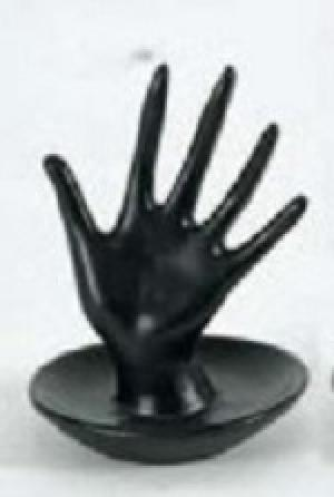 Autronic, Odkladač na prstienky malý čierny - ruka