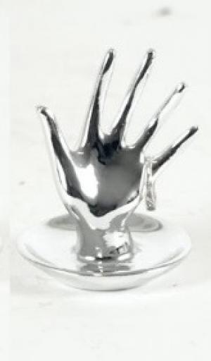 Autronic, Odkladač na prstienky malý strieborný