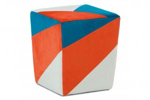 AUTRONIC TAB-107 ORA2 taburet oranžová / modrá / krémová