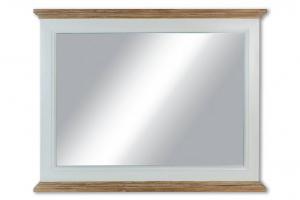 AUTRONIC XT053 Zrcadlo, barva bílá antik a přírodní,