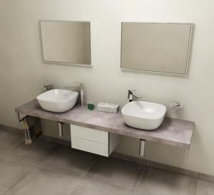 Avice AV237 doska 230x50 cm, Cement
