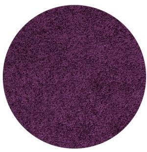 Ayyildiz koberce Kusový koberec Life Shaggy 1500 lila kruh - 160x160 (průměr) kruh cm