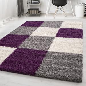 Ayyildiz koberce Kusový koberec Life Shaggy 1501 lila - 80x250 cm
