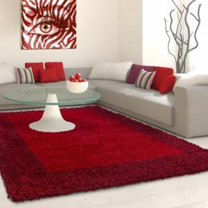 Ayyildiz koberce Kusový koberec Life Shaggy 1503 red - 200x290 cm