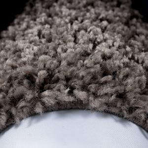 Ayyildiz koberce Kusový koberec Life Shaggy 1503 taupe kruh - 120x120 (průměr) kruh cm