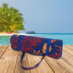 B.E.S. - Petrovice, s.r.o. Plážové lehátko v ruličce - mořský koník s korály